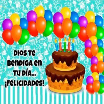 Feliz Cumpleaños Bendiciones Felicidades