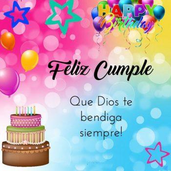 Frases De Feliz Cumpleaños Cristianas Bendiga