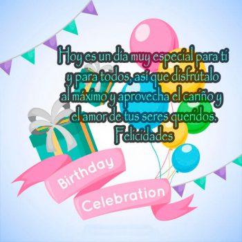 Imagenes Con Mensajes De Feliz Cumpleaños Disfrutalo