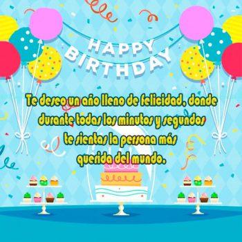 Imagenes Con Mensajes De Feliz Cumpleaños Minutos