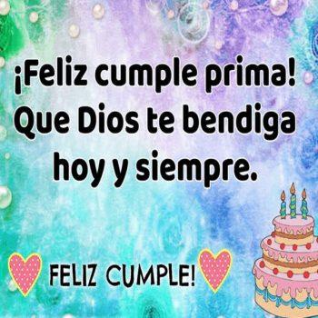 Imagenes Hermosas De Feliz Cumpleaños Prima Alegria