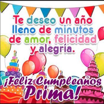Imagenes Hermosas De Feliz Cumpleaños Prima Felicidad