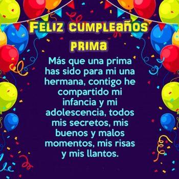 Imagenes Hermosas De Feliz Cumpleaños Prima Gracias