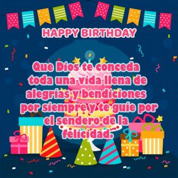 Saludos De Cumpleaños Cristianos Gratis Dios