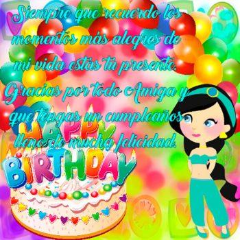 Tarjetas De Cumpleaños Para Una Amiga Alegria