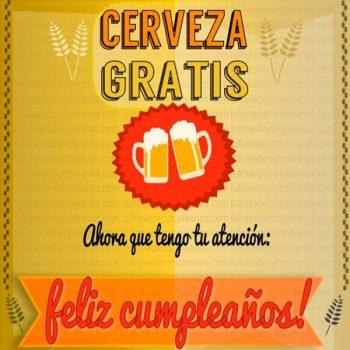 imagenes De Feliz Cumpleaños Para Hombres Cerveza Gratis