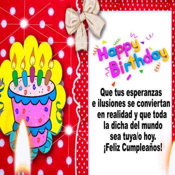Frases E Imagenes De Feliz Cumpleaños Esperanzas