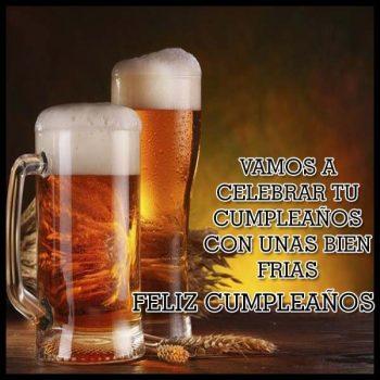 Imagenes De feliz cumpleanos con cerveza frias