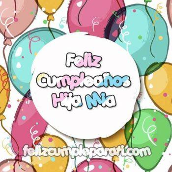 imagenes de feliz cumpleanos hija mia globos