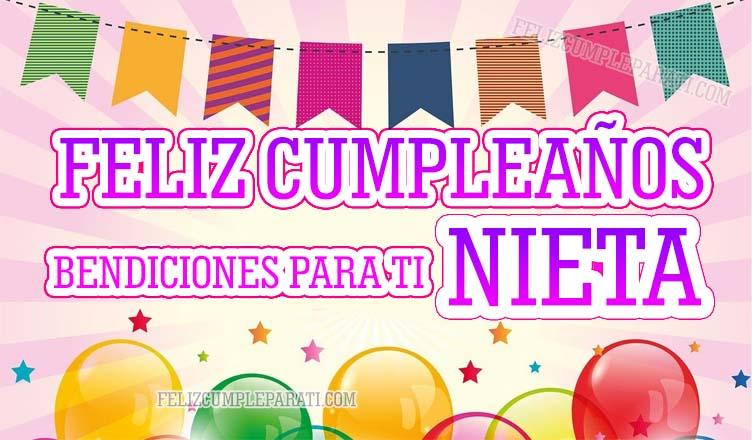 Lindas Frases De Feliz Cumpleaños Para Mi Nieta Feliz Cumple Para Ti