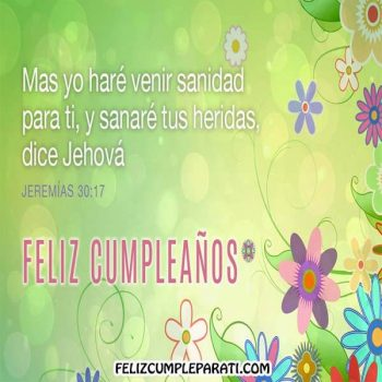 imagenes biblicas de feliz cumpleanos flores