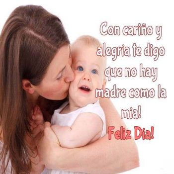 frases para desear un feliz dia de la madre bebe