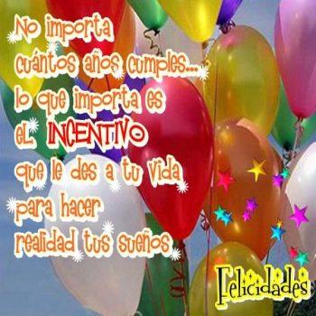 frases para felicitar el cumpleanos globos