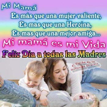 mensajes para el dia de la madre vida
