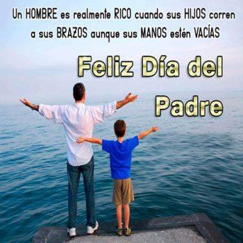imagenes de mensajes para el dia del padre abrazo