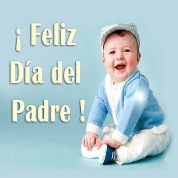 imagenes de mensajes para el dia del padre bebe