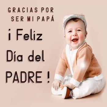 imagenes de mensajes para el dia del padre gracias