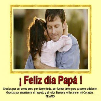 imagenes de mensajes para el dia del padre te amo