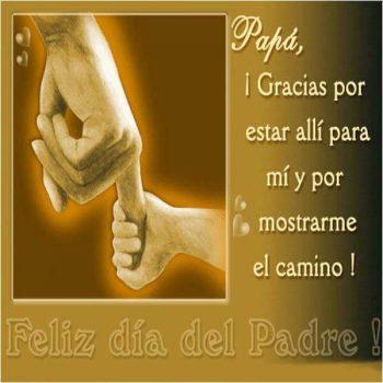 saludos por el dia del padre camino